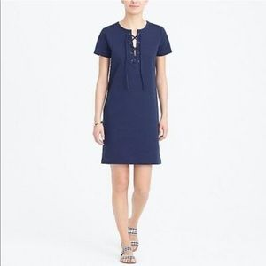 J. Crew Lace Up Dress
